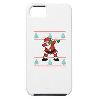 Santa Claus dab dance ugly christmas T-shirt iPhone 5 Case