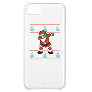 Santa Claus dab dance ugly christmas T-shirt iPhone 5C Cases