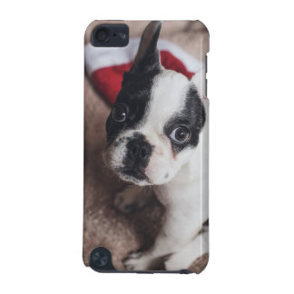 Santa claus dog -funny pug - dog claus iPod touch 5G case