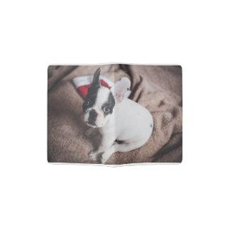 Santa claus dog -funny pug - dog claus passport holder