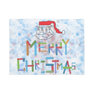 Santa Claus Door Mat