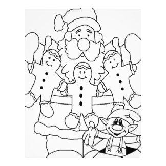 Santa Claus Elf Letterhead Template