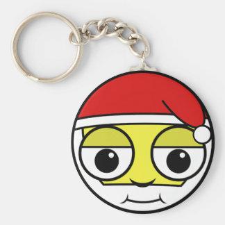 Santa Claus Face Keychain