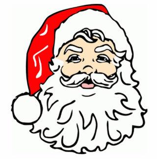 Santa Claus Face Cut Outs