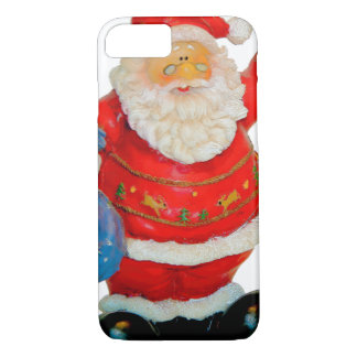 Santa Claus Father Christmas with Bag and Star iPhone 8/7 Case