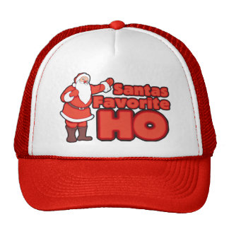 Santa Claus Favorite HO Trucker Hat