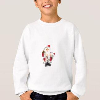 Santa Claus figurine isolated on white background Sweatshirt