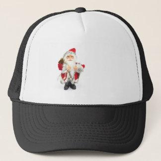 Santa Claus figurine isolated on white background Trucker Hat