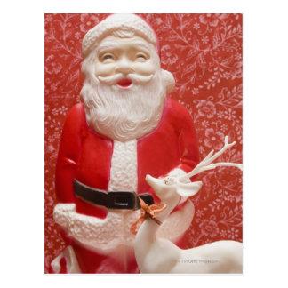 Santa Claus figurine Postcard