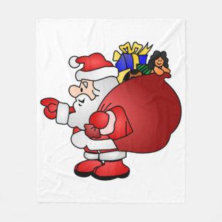 Santa Claus Fleece Blanket