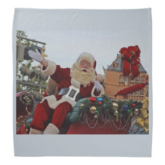 Santa Claus for Christmas Bandana