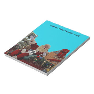 Santa Claus for Christmas Notepad