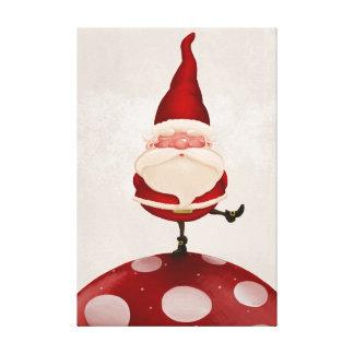 Santa Claus fungus Gallery Wrap Canvas