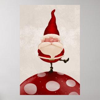 Santa Claus fungus Poster