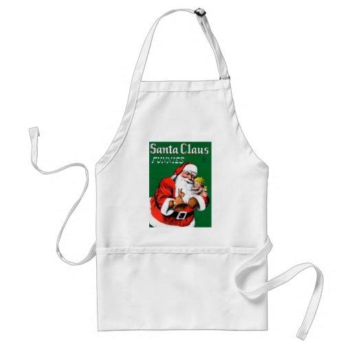 Santa Claus Funnies - Cherub Apron