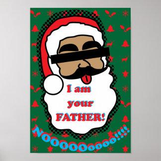Santa Claus Funny Poster