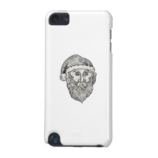 Santa Claus Head Mandala iPod Touch (5th Generation) Cover