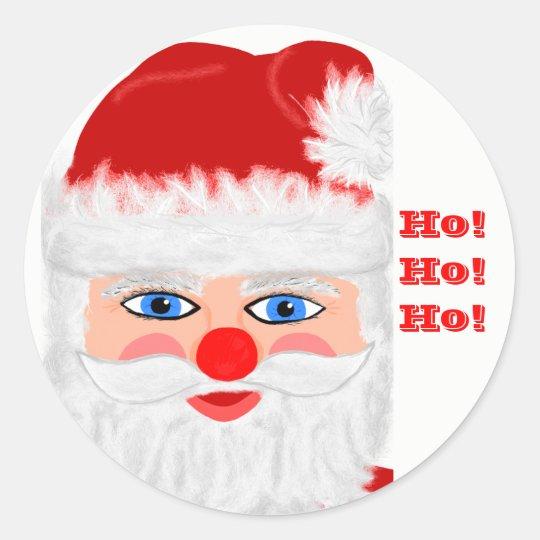 Santa Claus Ho Ho Ho Stickers