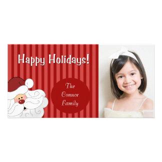 SANTA CLAUS Holiday Christmas Photo Card