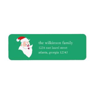 Santa Claus | Holiday Label