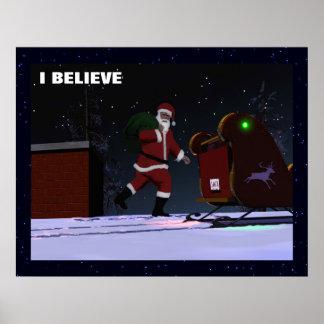 Santa Claus - I Believe Poster