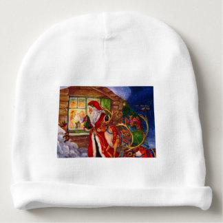 Santa claus illustration - christmas illustrations baby beanie