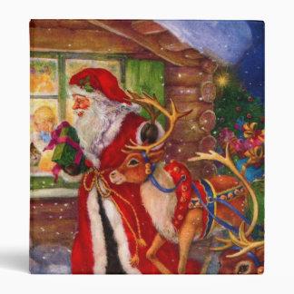 Santa claus illustration - christmas illustrations vinyl binders