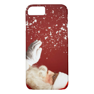 Santa Claus In The Snow iPhone 8/7 Case
