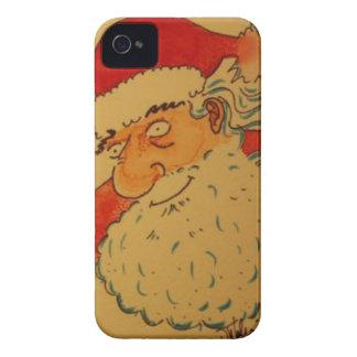 Santa Claus iPhone 4 Case-Mate Case