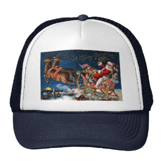 Santa Claus is Comming to Town Trucker Hat