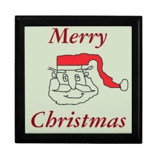 Santa Claus Keepsake Boxes