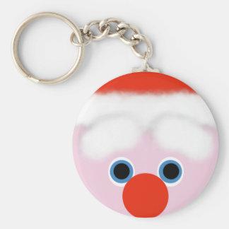 Santa Claus Key-Ring Keychain