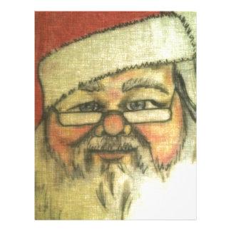 Santa Claus Custom Letterhead