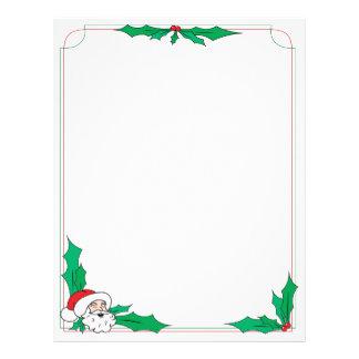 Santa Claus Letterhead Letterhead