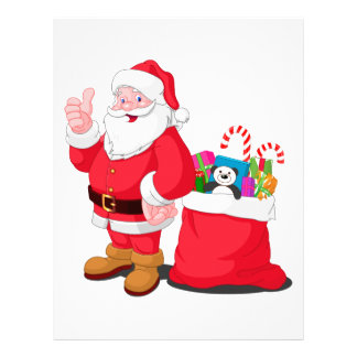 Santa Claus Personalized Letterhead