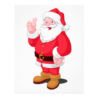 Santa Claus Letterhead
