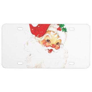 Santa Claus License Plate
