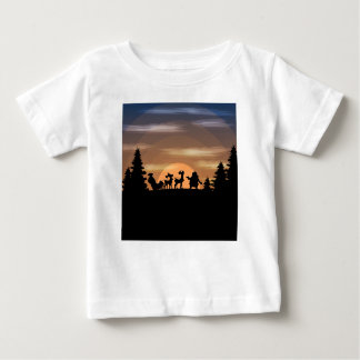 Santa Claus lost Baby T-Shirt