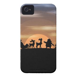 Santa Claus lost iPhone 4 Cover