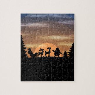 Santa Claus lost Jigsaw Puzzle