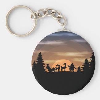Santa Claus lost Keychain