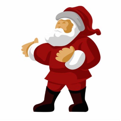 Santa Claus Magnet Photo Sculptures