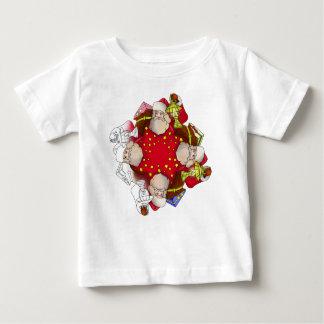 Santa Claus Mandala Baby T-Shirt