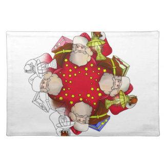 Santa Claus Mandala Placemat