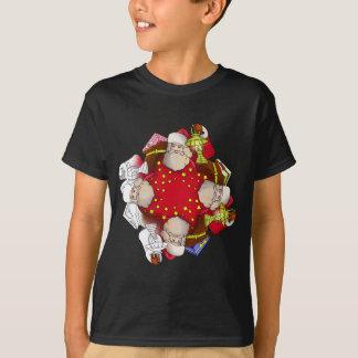 Santa Claus Mandala T-Shirt