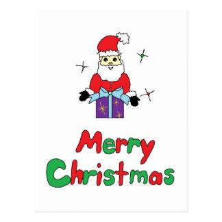 Santa Claus Merry Christmas Post Card