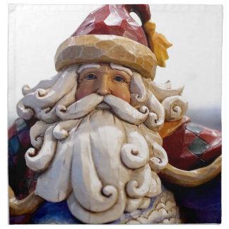 Santa Claus Nicholas Christmas Christmas Time Napkin