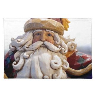 Santa Claus Nicholas Christmas Christmas Time Placemat