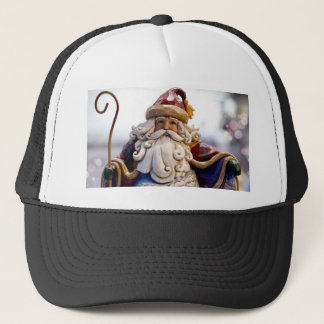 Santa Claus Nicholas Christmas Christmas Time Trucker Hat