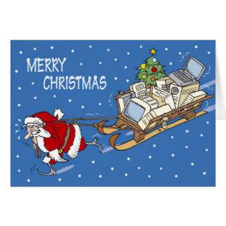 Santa Claus no. 04 Card